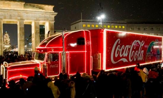 Coca-Cola Weihnachtstour Finale 2009 am 19.12.2009 in Berlin.
