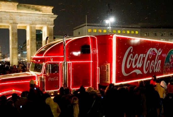 Coca-Cola Weihnachtstour Finale 2009 am 19.12.2009 in Berlin.