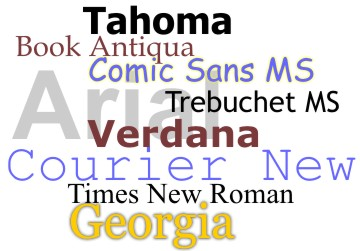 common_fonts